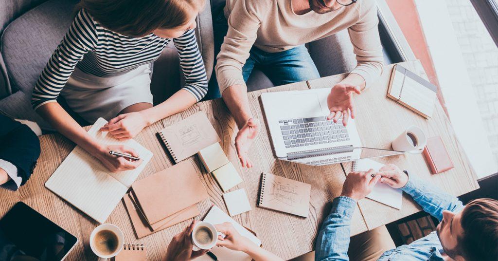 lluvia de ideas con tu equipo de trabajo